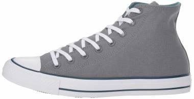Converse Chuck Taylor All Star Seasonal High Top - Cool Grey/Shoreline Blue (162451F)