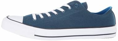 b089ed319003 Converse Chuck Taylor All Star Seasonal Colors Low Top Blue Fir Blue Hero  Inked