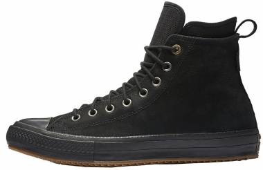 Converse Chuck Taylor All Star Waterproof Boot Nubuck High Top - Black, Gum (157460C)