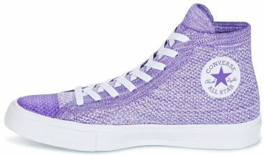 Converse Chuck Taylor All Star x Nike Flyknit High Top - Violet (157508C)