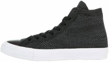 Converse Chuck Taylor All Star x Nike Flyknit High Top - Black Anthracite White