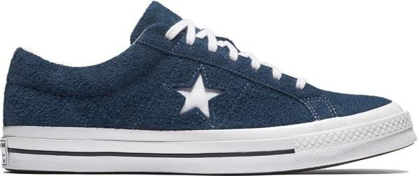 Converse One Star Suede Low Top - Navy (158371C)