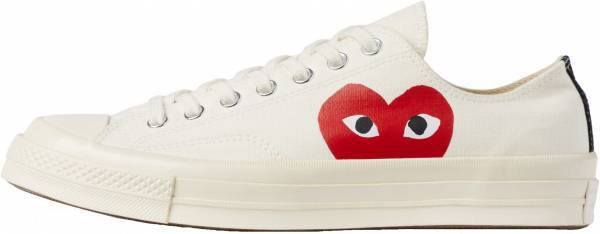 0feb74d2353a Comme des Garcons PLAY x Converse Chuck Taylor All Star 70s Low Top  comme-des