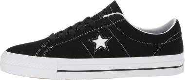 Converse CONS One Star Pro Low Top - Black Black White White 001