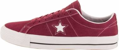 Converse CONS One Star Pro Low Top - Rhubarb/Black/Wht (163253C)