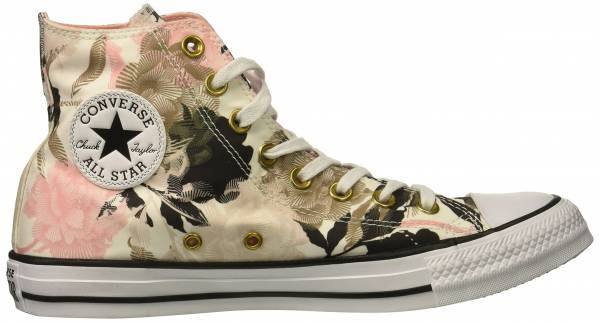 9041b6415fcb Converse Chuck Taylor All Star Floral Print High Top White Storm Pink Black