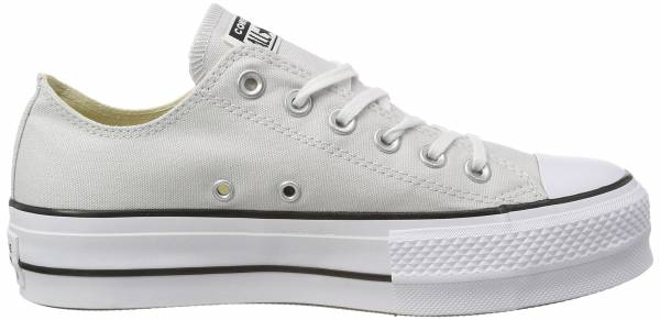 9bdf5ad0 Converse Chuck Taylor All Star Lift Canvas Low Top Gris (Mouse/White/Black