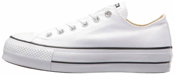 buy popular 4c3fe bd51d Converse Chuck Taylor All Star Lift Canvas Low Top White Black White