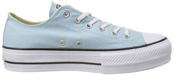 Converse Chuck Taylor All Star Lift Canvas Low Top  Blue (Ocean Bliss/White/Black 456)