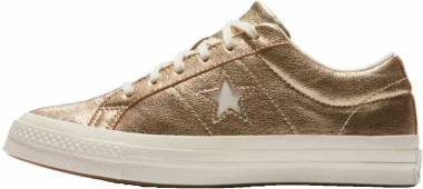 Converse One Star Heavy Metallic Leather Low Top - converse-one-star-heavy-metallic-leather-low-top-09f6
