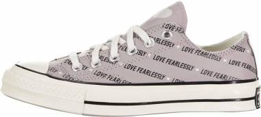Converse Chuck 70 Low Top - Amethyst Gray/Egret (567154C)