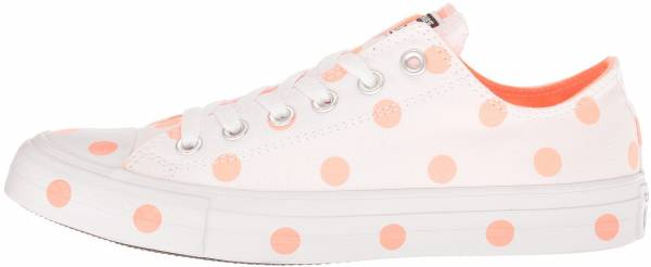 Converse Chuck Taylor All Star Polka Dots Low Top - White/Crimson Pulse/White (560629F)