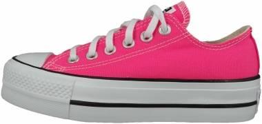Converse Chuck Taylor All Star Platform Low - Pink (570324C)