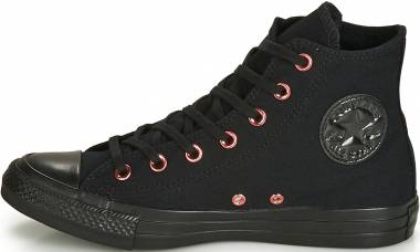 Converse Chuck Taylor All Star Hearts High Top - 001 Black