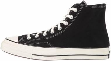 Converse Chuck 70 Suede High Top - Black/Egret/Egret (166216C)