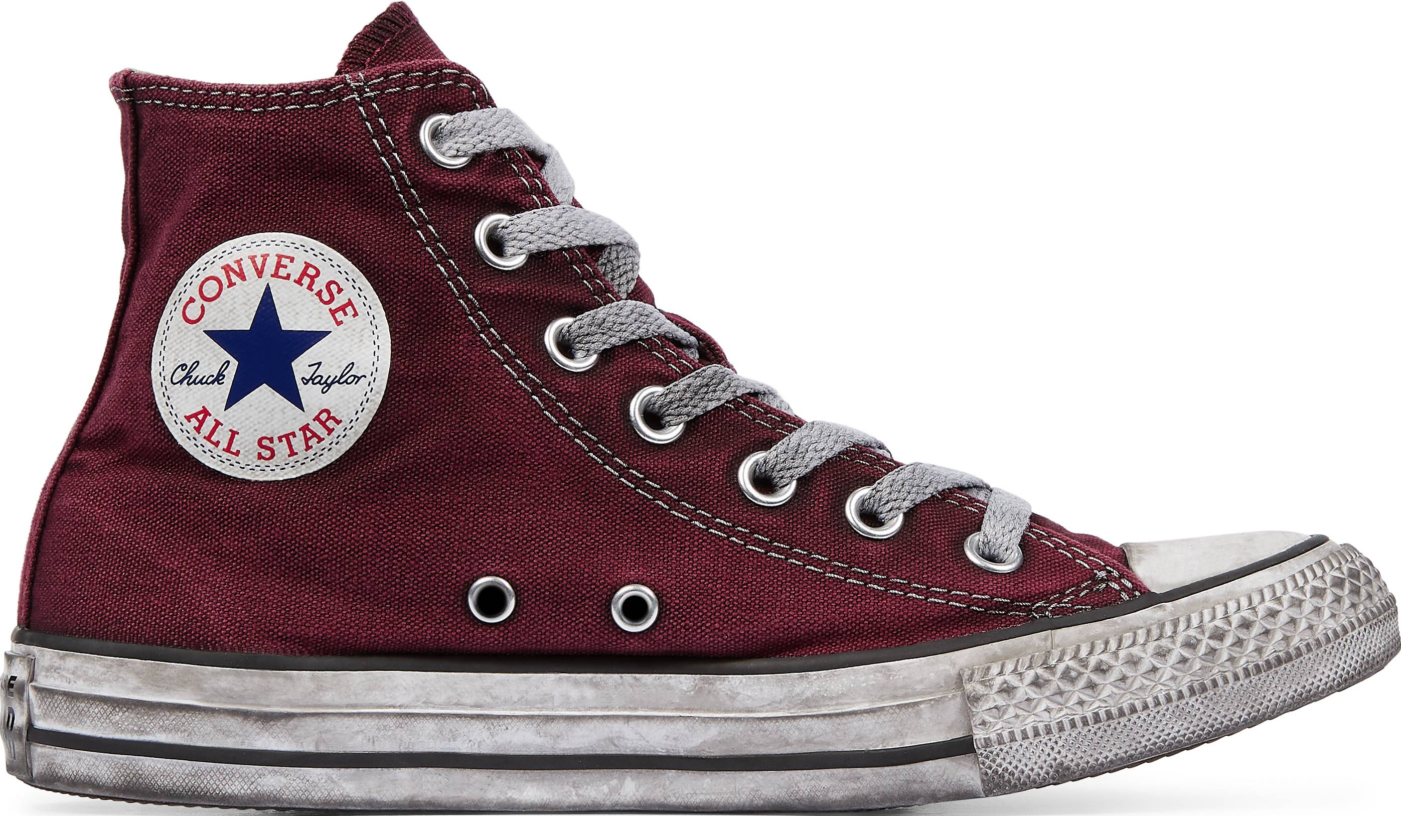 high ankle converse