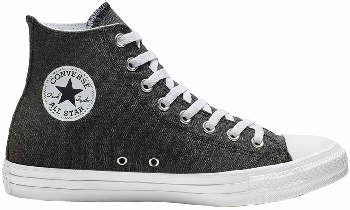 encerrar Levántate Perenne  Converse Chuck Taylor All Star Stone Wash High Top sneakers (only £39) |  RunRepeat