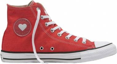 Converse Chuck Taylor All Star Denim Love High Top - Red