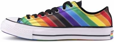 Converse Chuck Taylor All Star Pride Low Top - Weiß Schwarz Dark Roast (167756C)