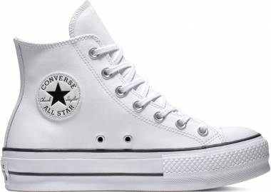 Converse Chuck Taylor All Star Platform Clean Leather High Top - converse-chuck-taylor-all-star-platform-clean-leather-high-top-2dc3