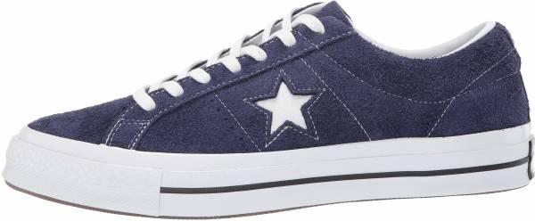 Converse One Star Vintage Suede Low Top Blau
