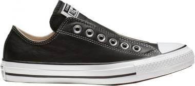 Converse Chuck Taylor All Star Leather Slip - Black/White/Black (164976C)