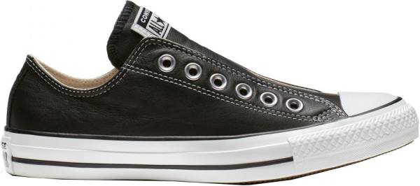 Converse Chuck Taylor All Star Leather Slip - Black/White/Black (164976C)