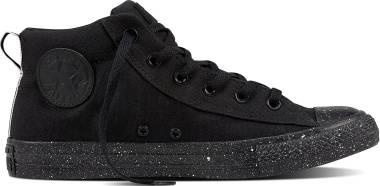 Converse Chuck Taylor All Star Street Mid - Black/White/Black (157543F)