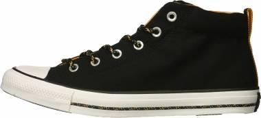 Converse Chuck Taylor All Star Street Mid - Black/Black/White