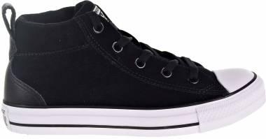 Converse Chuck Taylor All Star Street Mid - Black White 001