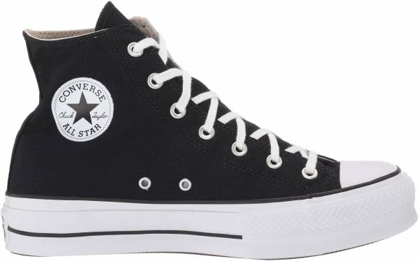 Converse Chuck Taylor All Star Platform High Top sneakers in white ...
