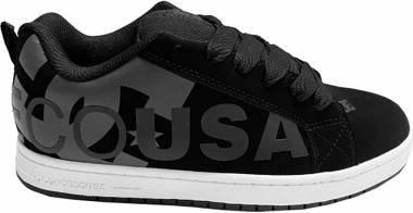 DC Court Graffik SE - Black Grey Black (300927XKSK)