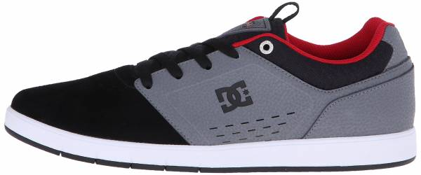 DC Cole Signature Shoe - Grey/Black/Red