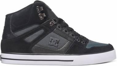 DC Spartan WC High Top - Black Black Dk Grey
