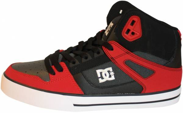 DC Spartan WC High Top - Rot (Red/Grey/Black - Xrsk)