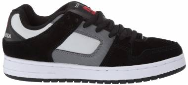 DC Manteca  - Black/Grey/Red (ADYS100177960)