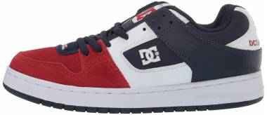 DC Manteca  - White/Navy/Red