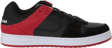 DC Manteca  - Black Athletic Red