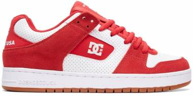 DC Manteca  - Rouge Red White Red Combo Xrwr (ADYS100177XRWR)