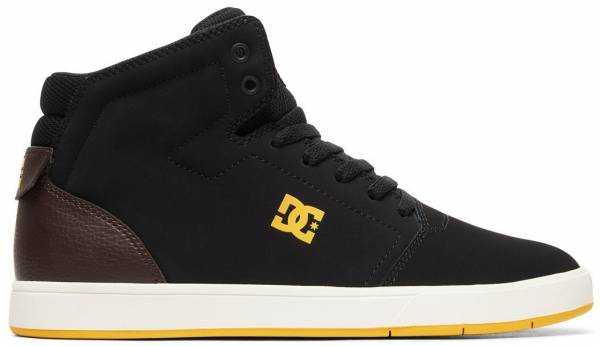 DC Crisis High-Top - Schwarz (Black/Brown/Black - Combo Xkck)