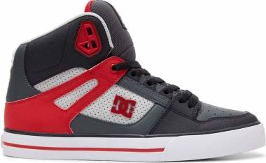 DC Pure High-Top  - Grey Red (ADYS40004387)