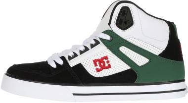 DC Pure High-Top  - White/Green/Black (ADYS400043TGB)