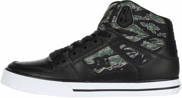 DC Pure High-Top  - Black/Camo Print (ADYS40005030)