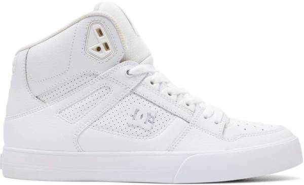 white high top gym shoes