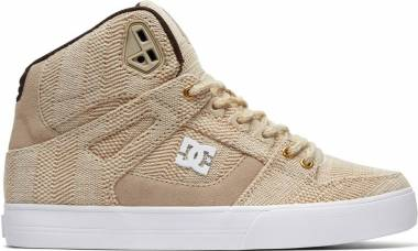 DC Pure WC TX LE High Top  - Beige