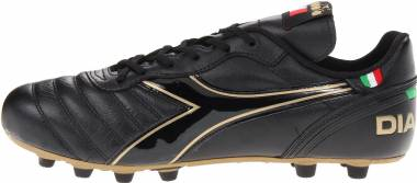 Diadora Brasil Classic Moulded PU - Black / Gold