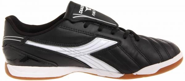 Diadora Forza Indoor - Black / White / Silver