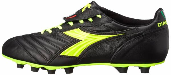 Diadora Brasil SPA - Black Yellow