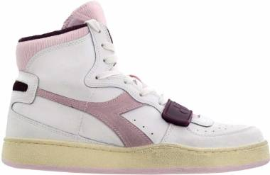 Diadora Mi Basket Used - White