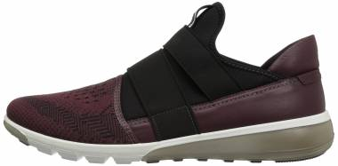 Ecco Intrinsic 2 Slip On - Bordeaux-black/Bordeaux